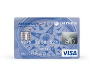 Карты «Аэрофлот» Visa Classic